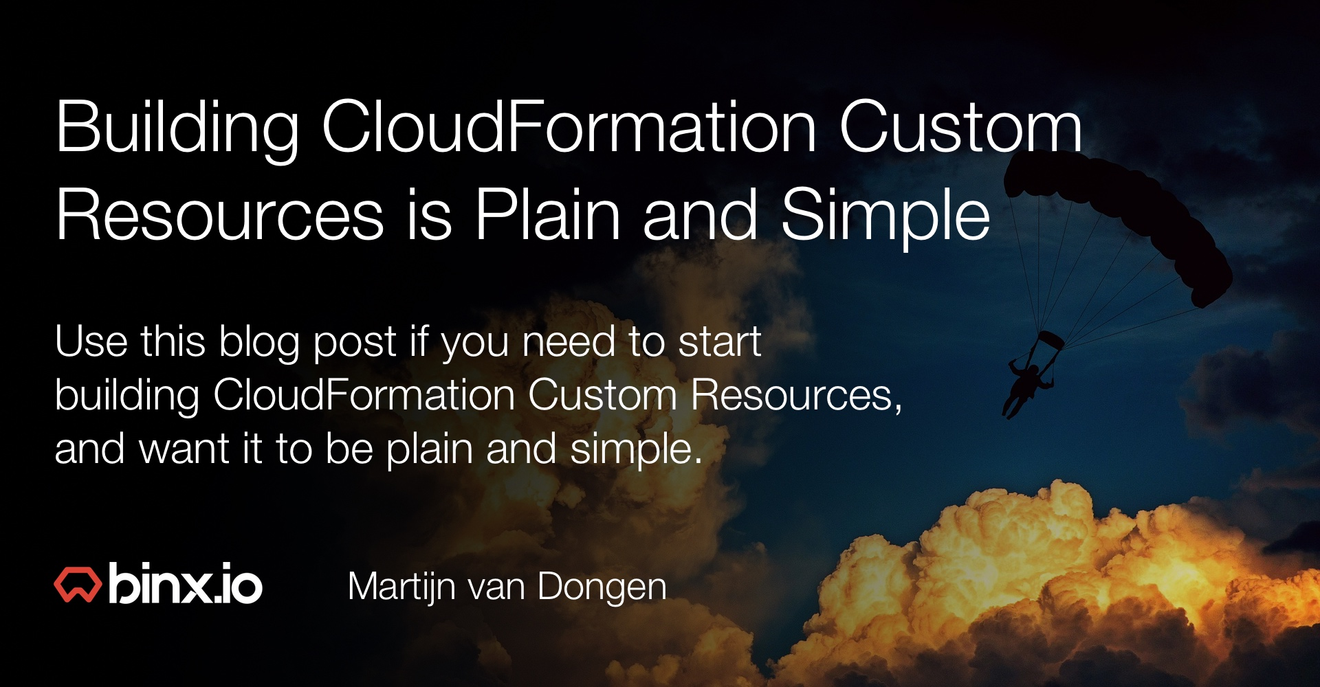 Building CloudFormation Custom Resources is Plain and