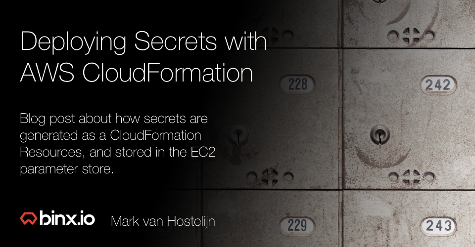 Deploying Secrets With Aws Cloudformation