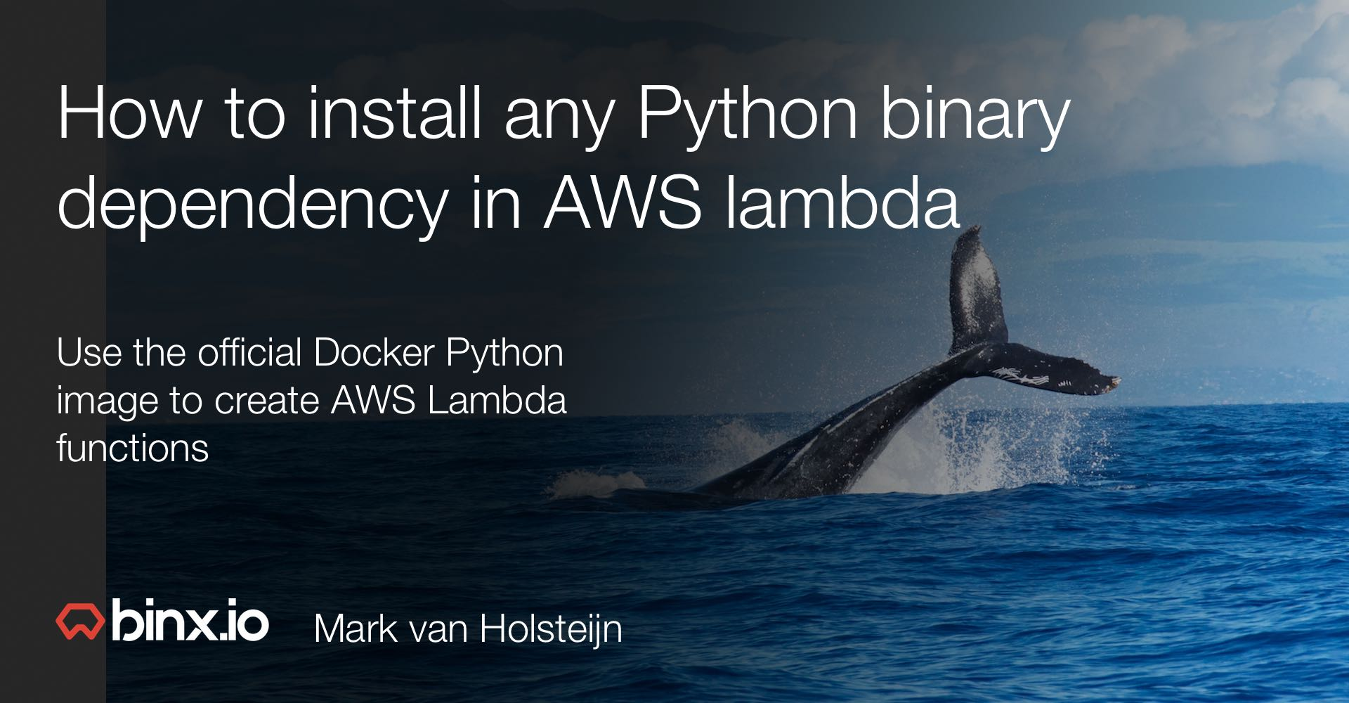 How to install any Python binary dependency in AWS lambda