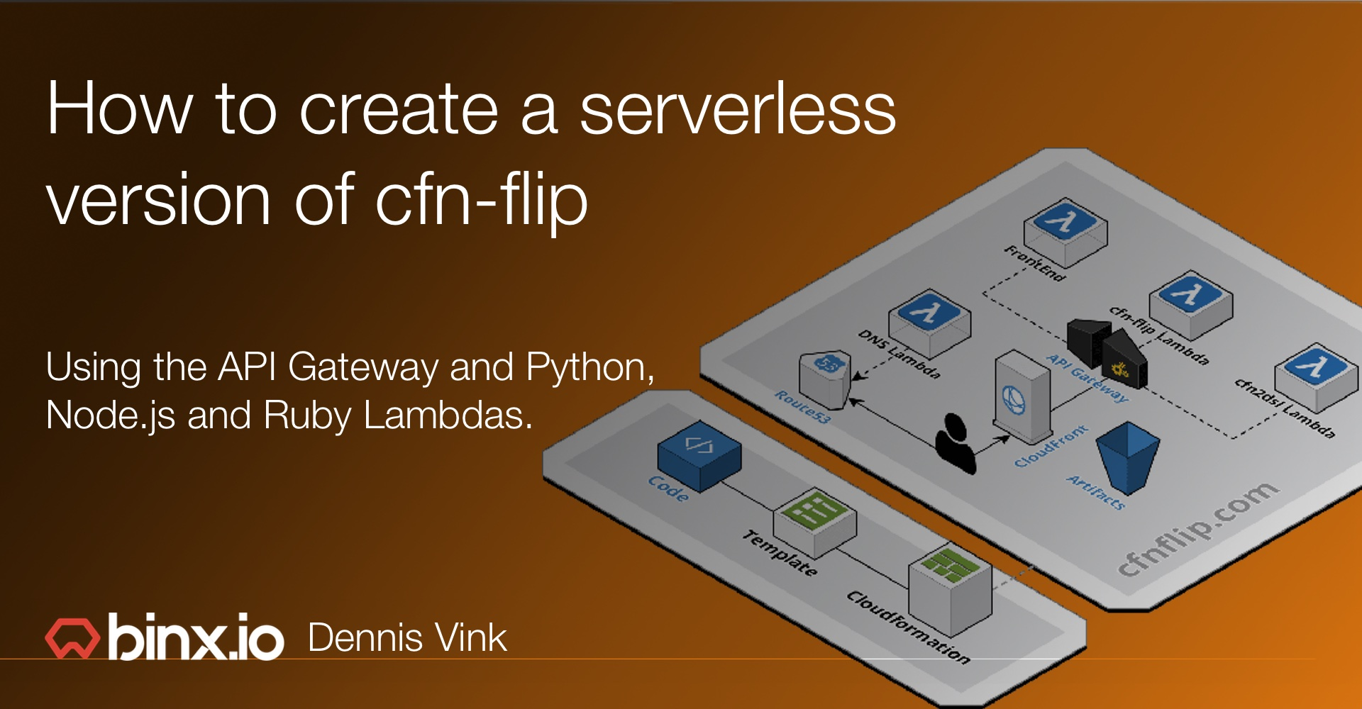 How we created a serverless version of cfn-flip