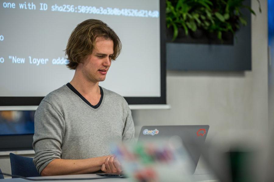 Wietse Venema, Binx, delivering a serverless Google Cloud Run Workshop