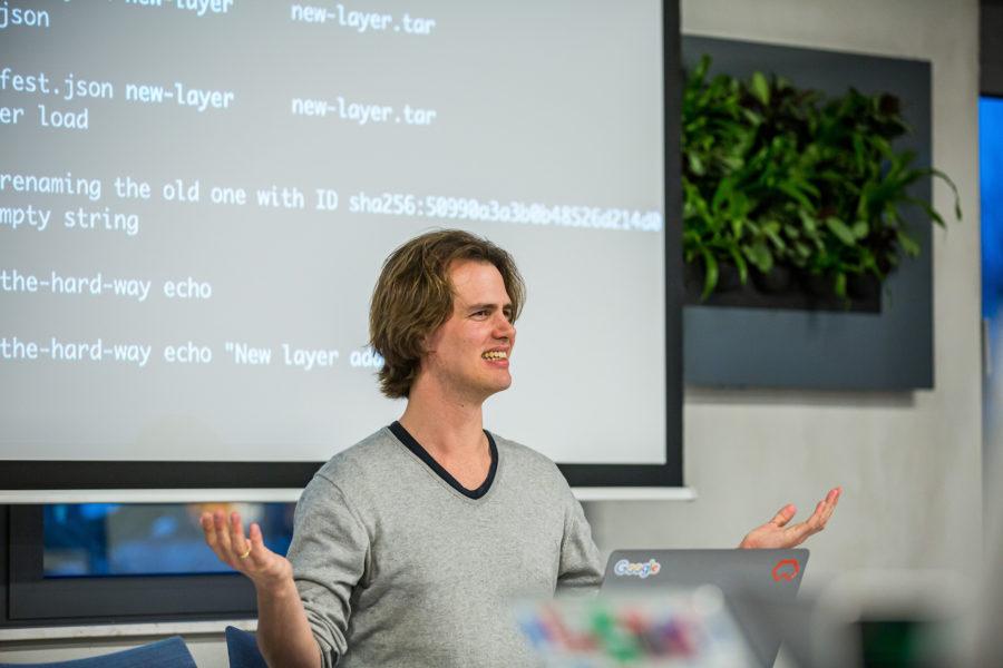 Wietse Venema from Binx talking about Google Cloud Run
