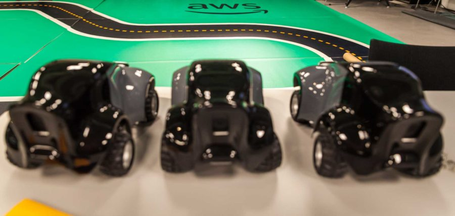 AWS Deep Racer Workshop at Binx