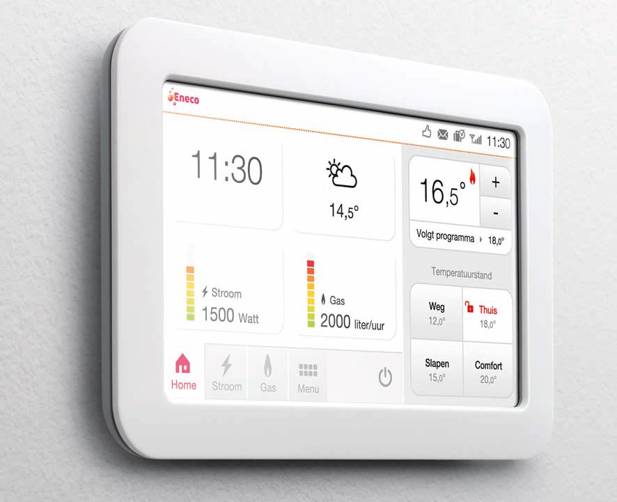 Quby - Toon smart thermostat - powered by AWS Infrastructure and Binx
